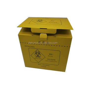 Wholesale custom design disposable corrugated medical safety paper box