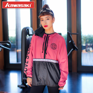 100% Polyester Custom Design New Arrival Wind Proof Coat /High Quality Sports Training Jacket Women 2017