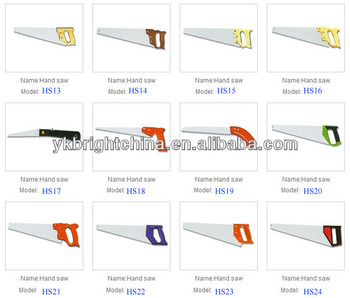 garden tool hand saw metal saw tree saw hs code is