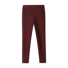 Mode Vrouwen Hoge Taille Casual <span class=keywords><strong>Broek</strong></span> Mode Dames Lange Slanke Skinny <span class=keywords><strong>Broek</strong></span> Bandage Elastische Potlood <span class=keywords><strong>Broek</strong></span>