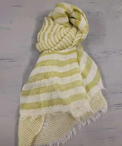 Fashion lady cotton linen scarf viscose muffler,stock available