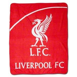 Liverpool FC Fleece Blanket Liverbird