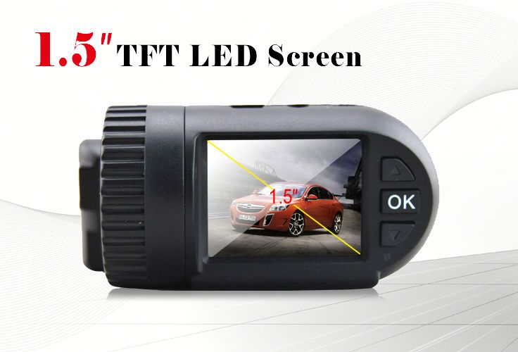 racing car cameras Ambarella A2S60 gps motion detection g-sensor dash cam