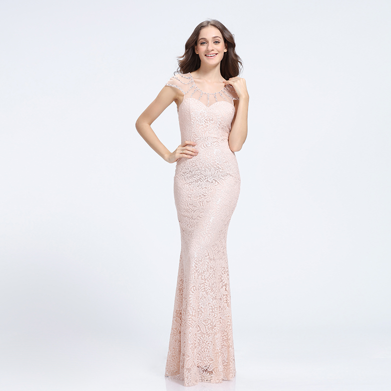 Fish Cut Gown Patterns Of Lace Evening Dress - Buy Patterns Of Lace ...