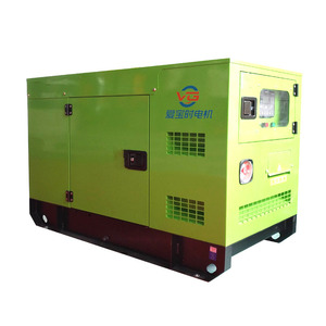 Hot sale 30kw diesel generator with Tiffany blue color from China