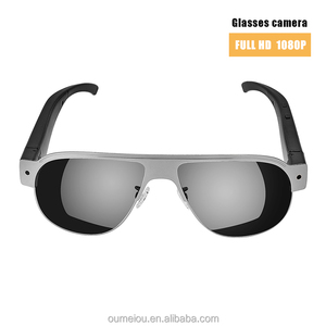 outdoor sports self recording waterproof sunglasses hidden camera new model for wholesale