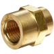 Brass/Copper Hex Reducing Female Pipe Coupling