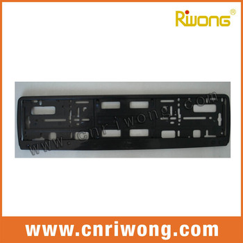 Euro Size Number Plate Surround Frame For Car - Buy Number Plate ...