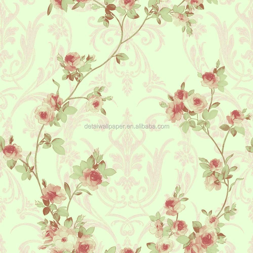 Detai美しいナチュラルレッドローズ花壁紙 不織布壁紙 壁紙 Buy