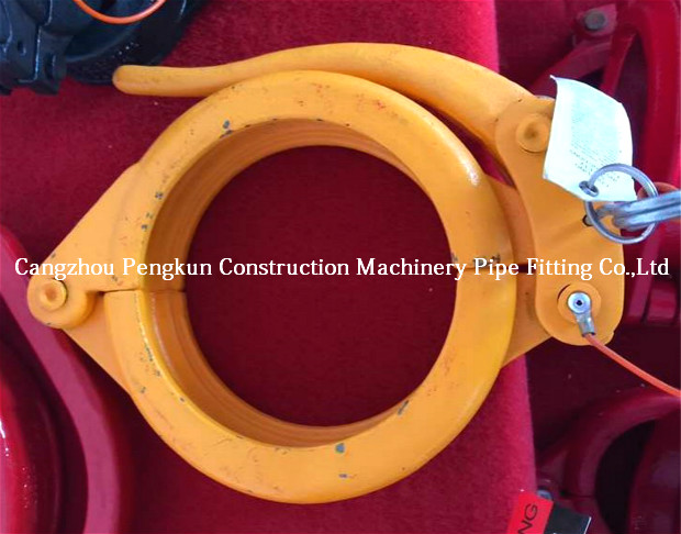 concrete pump spare parts Snap coupling SK 125 5-1/2""