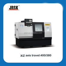 high precision and stability GSK System slant bed CNC Lathe turning Machine with gang type tool post and hydraulic collet CXK32