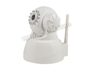WIFI 802.11 b/g/nWireless Indoor HD P/T CCTV IP Camera, Built-in IR-CUT,3.6mm Lens 15 preset positions (SIP-T01W)