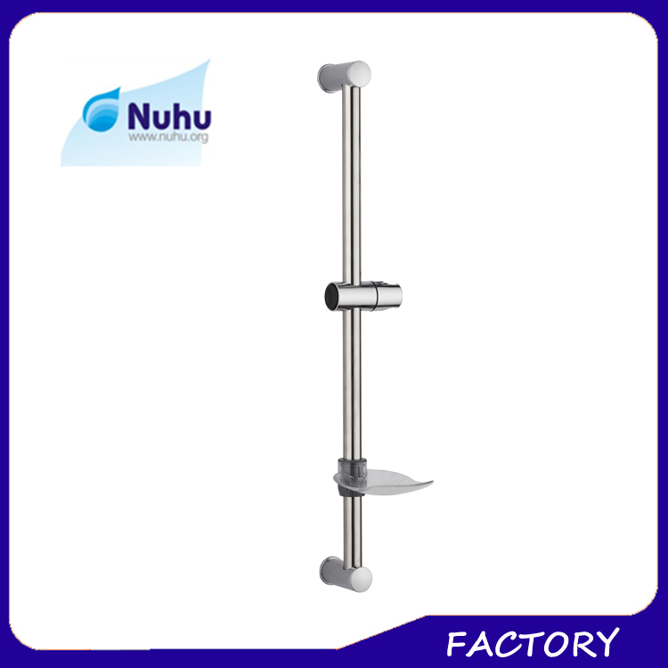 Stainless steel chrome shower head holder set, shower sliding bar, bathroom accessories