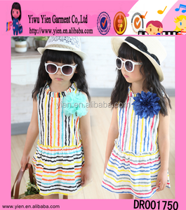 New Style Kids Frocks/Wholesale Children's Boutique Clothes /Latest Rainbow Frocks designs For Girls