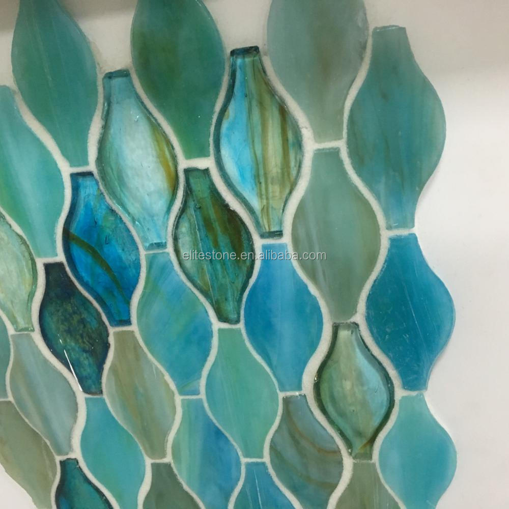 Cheap Glitter Crystal Glass Mosaic Tile - Buy Glitter Crystal Glass ...