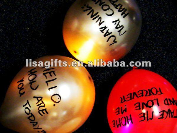 Led Balloon Lights Led Advertising Balloon