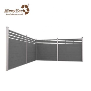 ce test eco-friendly cheap fence panels with aluminum post