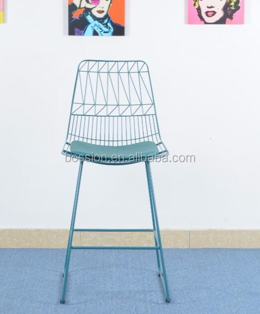 2016 Modern Design Bertoia Wire Bar Stool For Hotel And