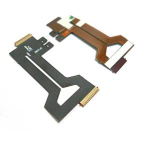 2 Pcs Shaft Rotating LCD Flex Cable Ribbon FPC Assembly Part Repair Part Unit Camera Replacement for Casio EX-ZR55 Digital Camera