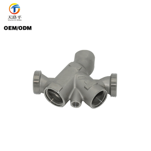 Customized 316 Stainless Steel Five-way Joint Investment Precision Casting