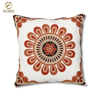 High Quality Indian Style Embroidered Decorative Pillow Case