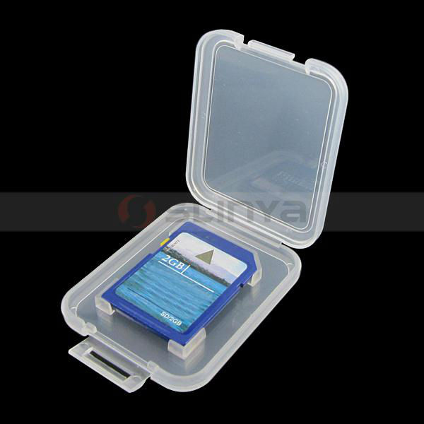 Memory Card Case Protector Box For SD T-Flash card Case Plastic Box