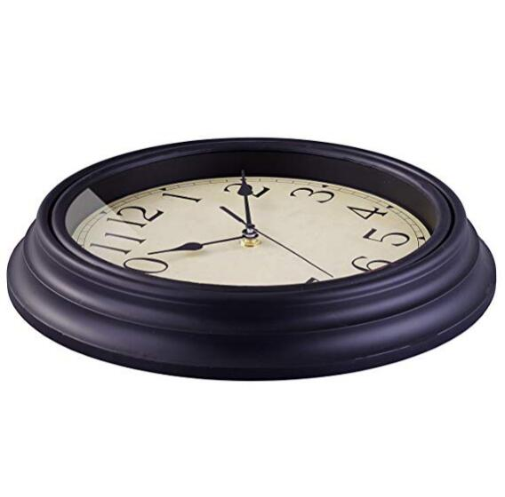 Promotional 12inch Antique European Style Plastic Wall Clock