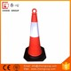 Cheapest Used Traffic Barrier PE Traffic Cone With Rubber Base