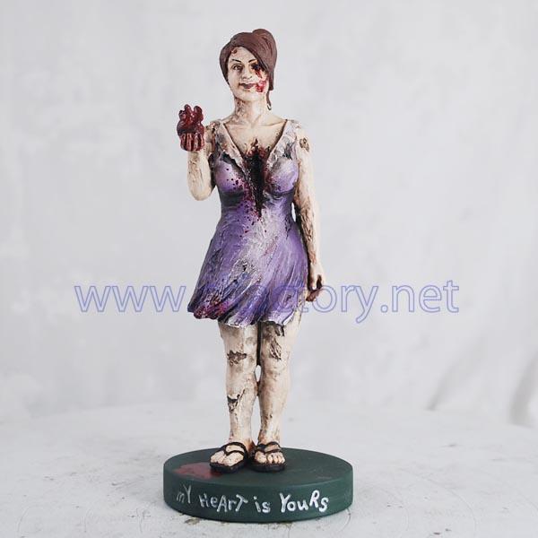 figurine zombie