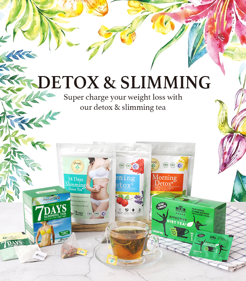 Private Label 14 days 28 days Weight Loss Tea slim tea - 4uTea | 4uTea.com