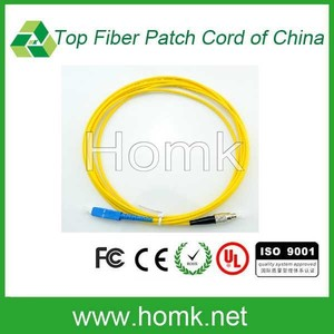 FC to SC fiber optic patch cord good quality patch cable