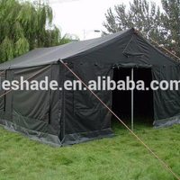 Heavy Duty Canvas Army Military Tent 16x5.4m 30 Person Tent