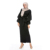 Professional Factory Supply Dubai Wine Red Wedding Office Women Formal Muslim Abaya Dresses Indian Traditional Dress