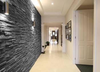 Carbon Slate Ledger Stone Tiles