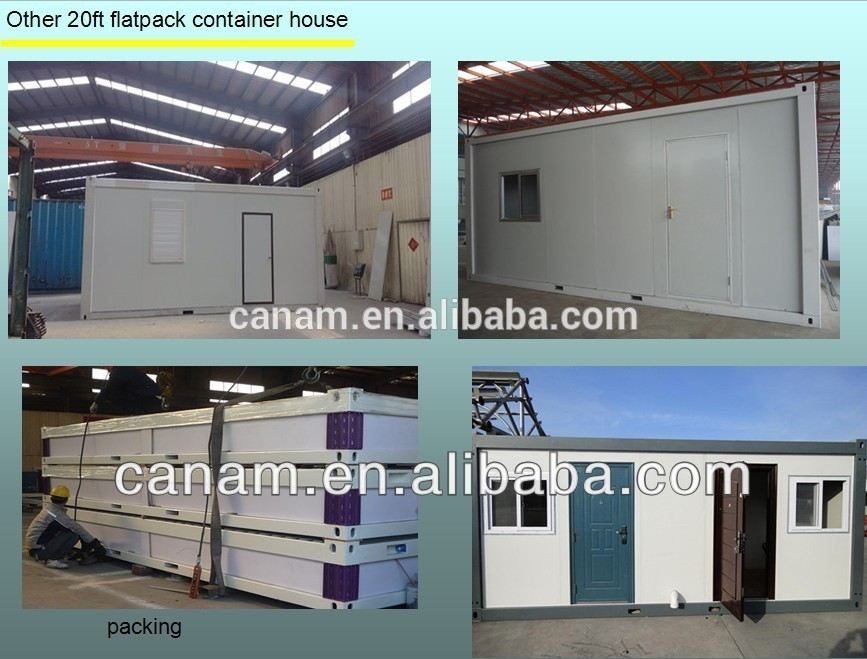Economic flatpack movable 20ft' container house