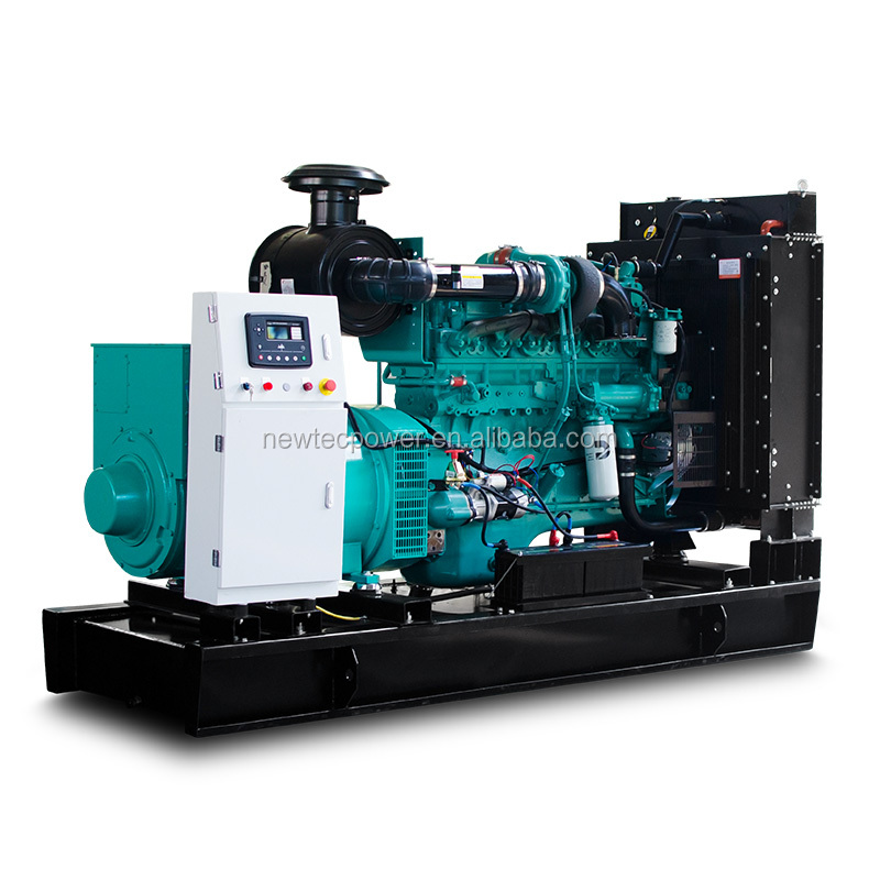 Factory Supply 280kw dynamo generator Diesel Genset and Parts with Cummins 6 cylinder Engine 350 kva generator