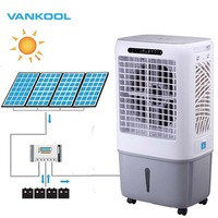 Vankool sell well 12v dc solar air conditioner and electric water cooler fan