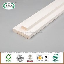Finger Joint Pine Wooden Rebated Door Primed Flat Jamb