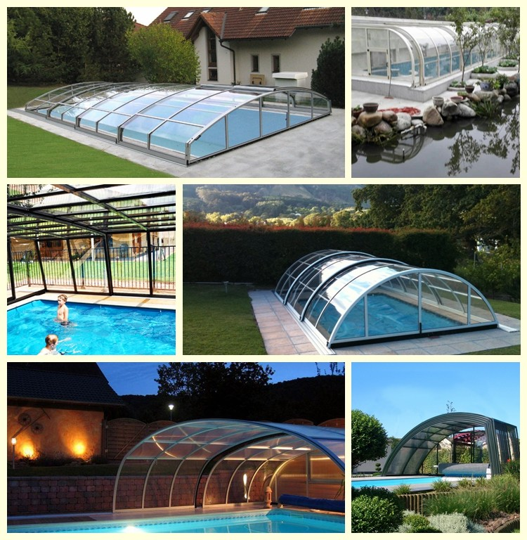 Winter Swimming Pool Enclosure Kits - Buy Swimming Pool ...
