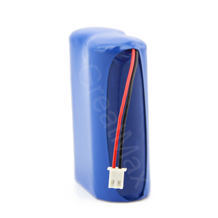 2S1P Rechargeable li-ion 7.4V 1400mAh 18500 lithium li ion battery pack price