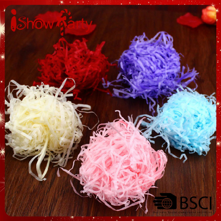 Wholesale Arts and Crafts Bright-colored Paper Customized Sizes Raffia Fibre