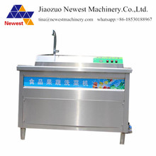 One year guarantee peach cleaning machine/widely used automatic wash machine for cabbage