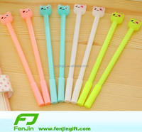 Newest tute cartoon custom design soft rubber ball pen topper