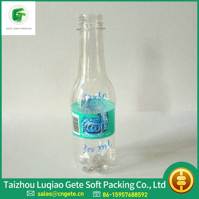 Customized High Clear Color Print Plastic Bottle Label