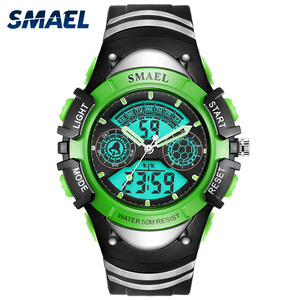 SMAEL 0616 Children Watch LED Sports Alarm Waterproof Wristwatches for Children