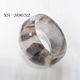 Custom Resin Glass Bangle Bracelets Fashion Design Bracelet Bangle