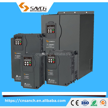 Sanch S3800 CE certificate 1.5kW~110kW 3 phase torque/vector control close-loop 380v~480v ac vfd inverter for ac motor