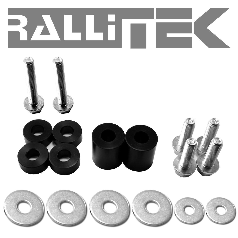 RalliTEK Skid Plate Hardware - WRX & STI 08-14 / Impreza NA 08-10 / Legacy & Outback 05-09