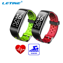 Nieuwe Q8 Fitness Bluetooth Smart Polsbandje Hartslagmeter Verifit App, IP68 Waterdicht Bluetooth Smart Armband Horloge