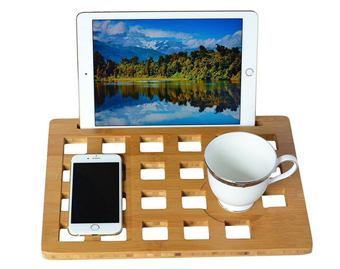 Hot sell Bamboo Laptop stand or cooling pad in Amazon